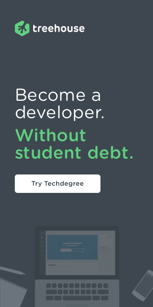treehouse tech degree