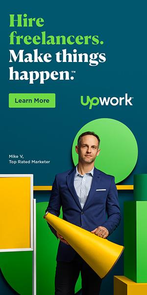 upwork web design
